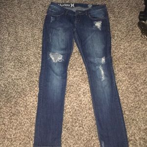 Hurley Distressed Skinny Jeans Size 5